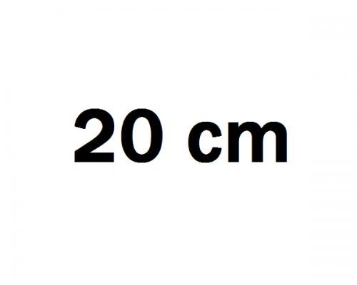 20 cm Autóhifi mélyláda