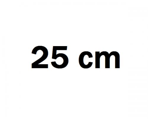 25 cm Autóhifi mélyláda