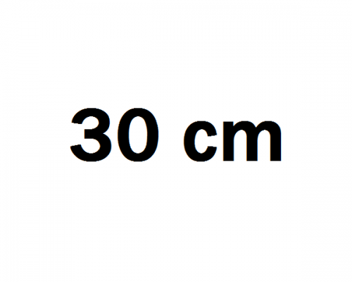 30 cm Autóhifi mélyláda